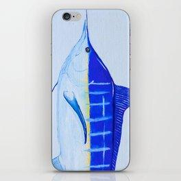 Pacific Blue Marlin iPhone Skin