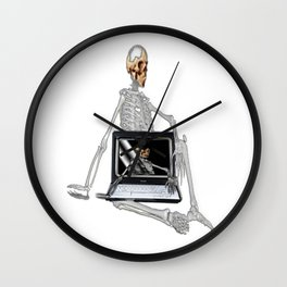 Skelet Wall Clock