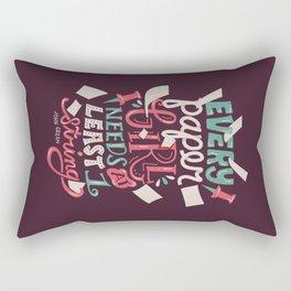 Paper Towns: Paper Girl Rectangular Pillow