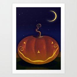 Halloween Spooks! Art Print