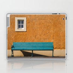 Bench by the Wall Laptop & iPad Skin