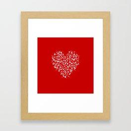 big heart 03 Framed Art Print