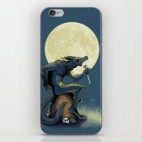 werewolf iPhone & iPod Skins featuring Werewolf! by drubskin