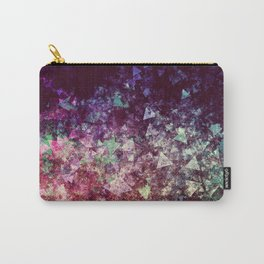 Grunge Concert Festival Background as Colorful Abstract Carry-All Pouch