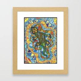 Lizard Island Framed Art Print