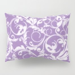 Lilac Swirls Pillow Sham