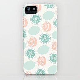 Cute Lemonade iPhone Case
