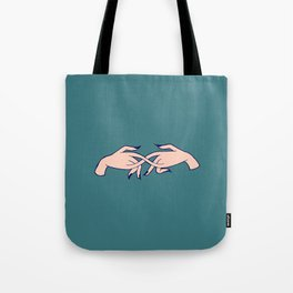 Stimming Hands Tote Bag