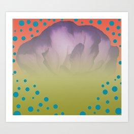 Poka Dot Fever Art Print