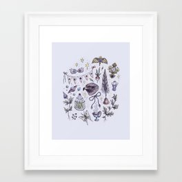 Ravenclaw, Creativity and Wit Framed Art Print