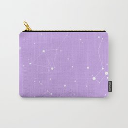 Pastel Purple Nigh Sky Carry-All Pouch