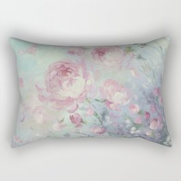 Dancing Petals Rectangular Pillow