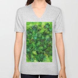 Through the Emerald Canopy Unisex V-Neck