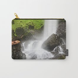 Pacific Northwest Adventure - Long Exposure Waterfall | Silver Falls Carry-All Pouch