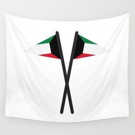 Kuwait flag Wall Tapestry
