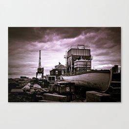 Charlestown Navy Yard Canvas Print
