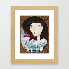 Lady Mary Turnipton Framed Art Print