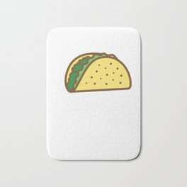 Lets Taco About Real Estate I Funny Realtor graphic Gift Bath Mat