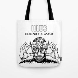 ILLUS: Behind the Mask Tote Bag