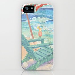 Happy Place / Anna Maria Island iPhone Case