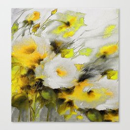 FLOWERS PAINTING Canvas Print