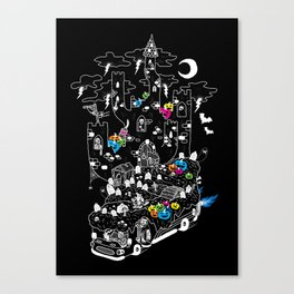 The Horrible Bus Canvas Print