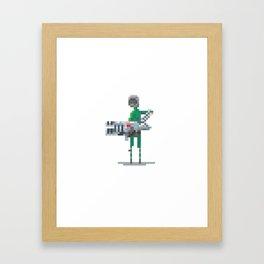 21yrs later, Doom guy Framed Art Print