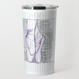 Pointe in Pen Travel Mug
