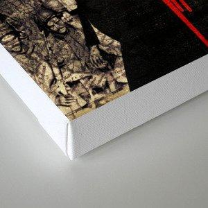 Bound Canvas Print