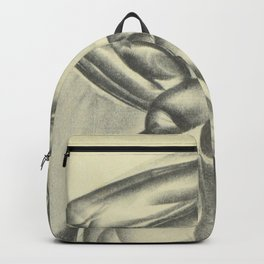Not a Spiritual by Iver Rose WPA Era Social Realism African American Lithograph Backpack