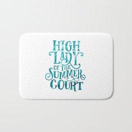 High Lady Summer Court ACOTAR Bath Mat