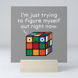 Back To Square One Mini Art Print