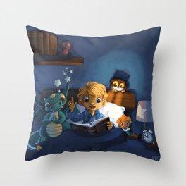 Little boy Throw Pillow