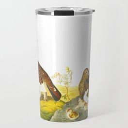 Willow Grouse, or Large Ptarmigan Bird Travel Mug