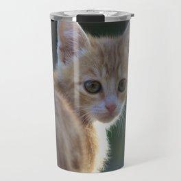 Gatto Rosso - Red Cat Travel Mug