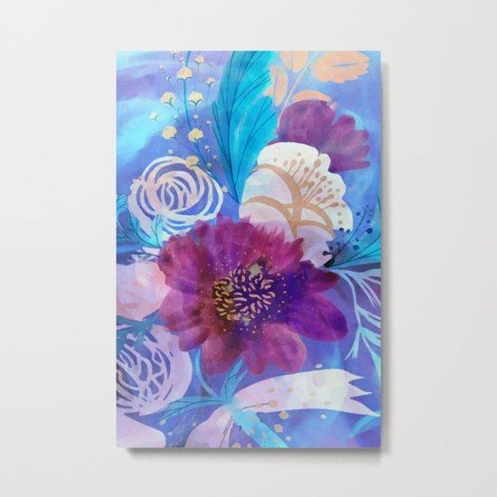 Spring floral mood Metal Print