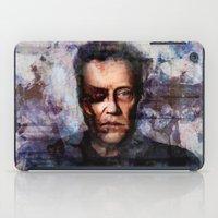 christopher walken iPad Cases featuring Christopher Walken Terminator by Jay Gidwitz