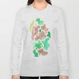 171115 Colour Shape 4|abstract shapes art design |abstract shapes art design colour Long Sleeve T-shirt