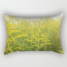 Yellow Goldenrod Rectangular Pillow