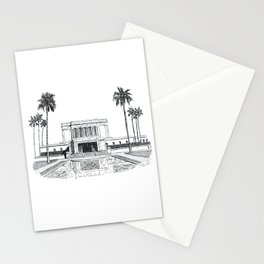 Mesa Arizona LDS Temple Stationery Cards