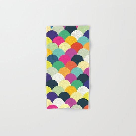 Colorful Circles Hand & Bath Towel