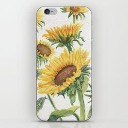Blooming Sunflowers iPhone Skin
