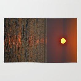Sunset on Kahluu Bay Rug