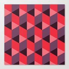 Queen of Hearts [isometrix 013] Canvas Print