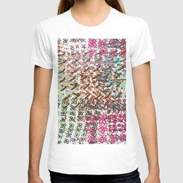 Grunge ink pen pattern T-shirt