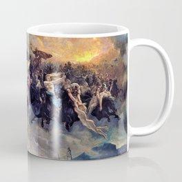 Peter Nicolai Arbo - The Wild Hunt of Odin - Digital Remastered Edition Coffee Mug