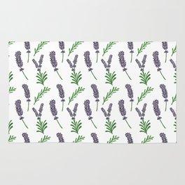 Lavender Pattern Rug