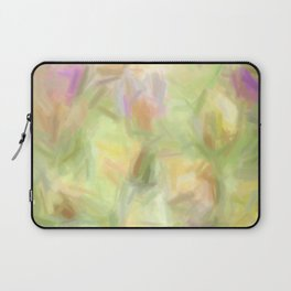 Abstract Tulips Laptop Sleeve