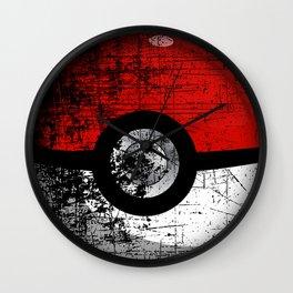 Pokeball Disapper Wall Clock