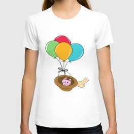 Kitty Traveling T-shirt